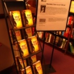 Harvard Coop, THE WHIP in the stacks, June 14, 2012