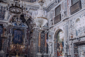 Interior of the Church of the Immaculate Conception - Palermo, Sicily